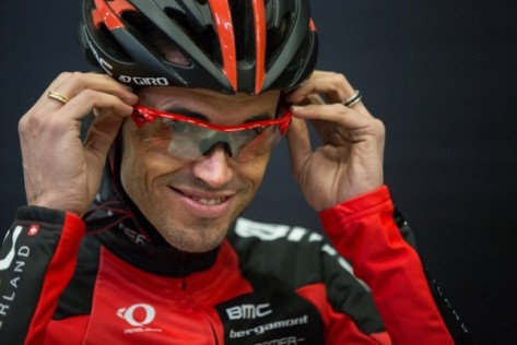 Will Samu  give Cadel the inside edge? (image: BMC)