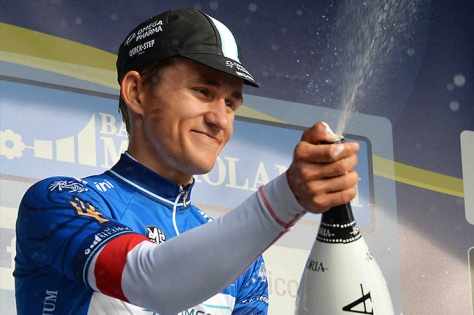 Kwiatkowski showed he has guts as well as talent (Image: Tirreno-Adriatico)