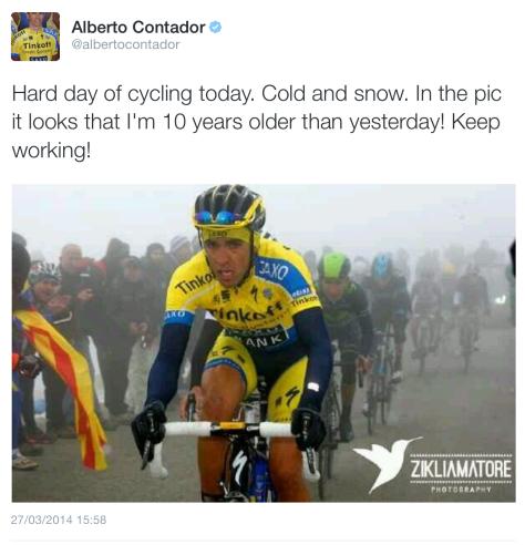 V Contador freezing