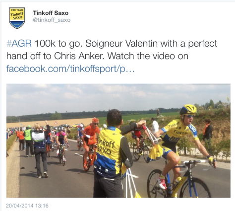 AG race Saxo feed