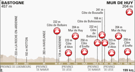 Fleche Wallonne 2014 profile