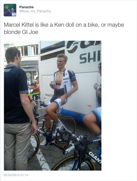 G Kittel as Ken doll