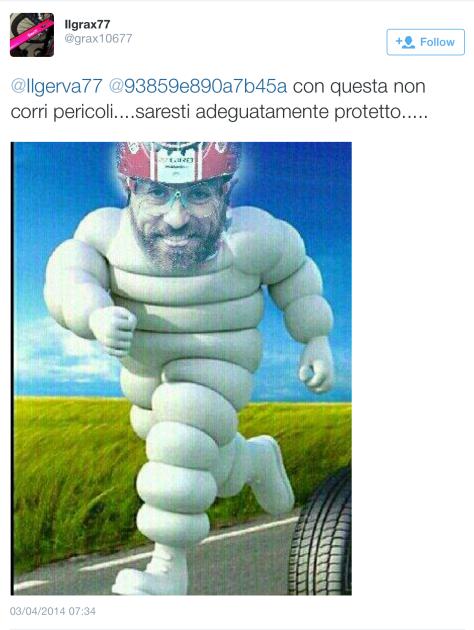 G Paolini michelin man