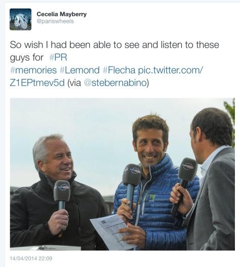 PR Flecha commentary 1