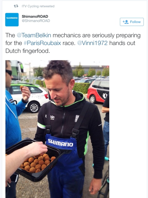 PR before Dutch treats