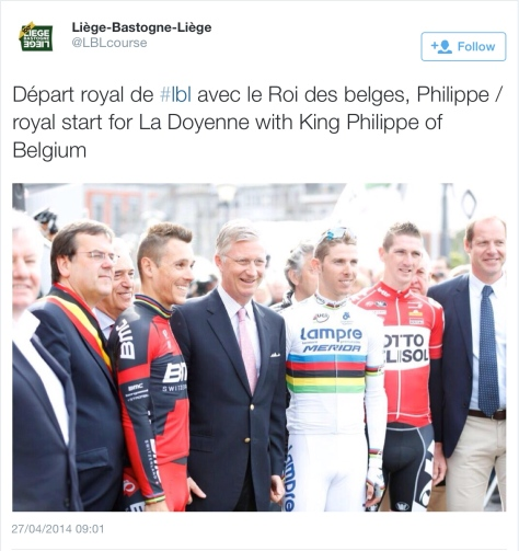 LBL preview King Belgium