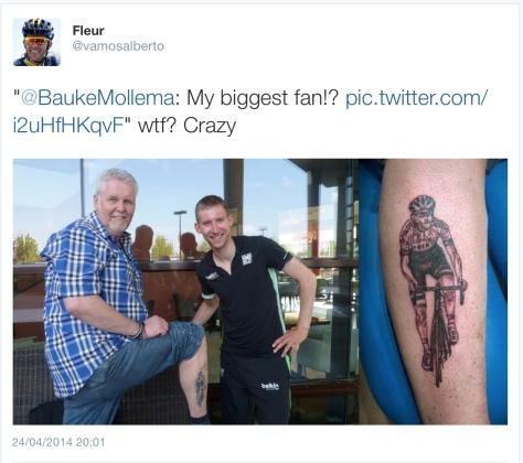 G Mollema tattoo