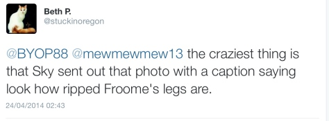 Froome legs 2