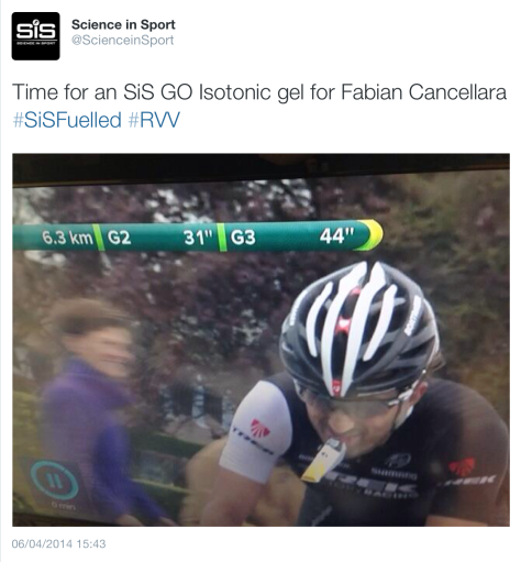 RVV on course gel