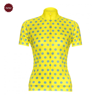 Chapeau ladies jersey polka dot