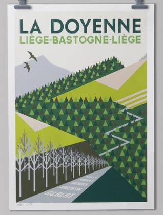LBL poster Handmade Cyclist