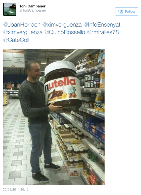G Giant nutella