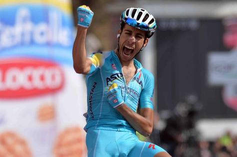 We think Fabio is quite happy ... (Image: Giro d'Italia)