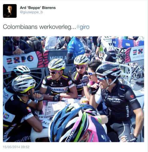Giro Colombians chat