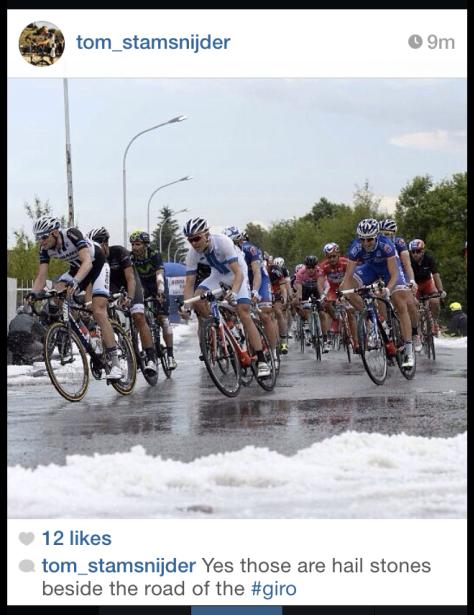 Giro hail