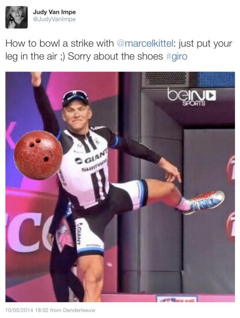 Giro Kittel bowling