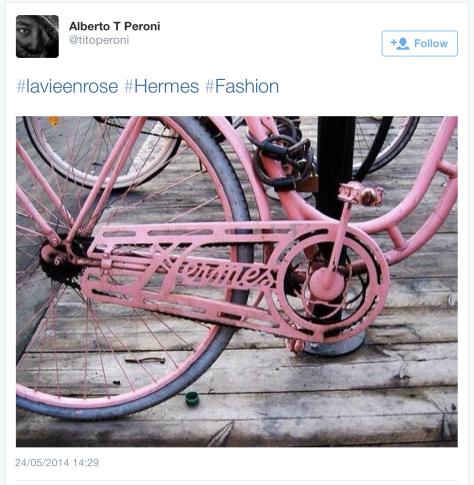 Giro pink Hermes