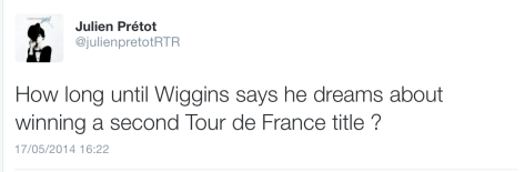 Wig v Froome 2nd TdF