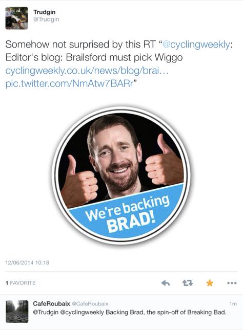 Backing Brad 1