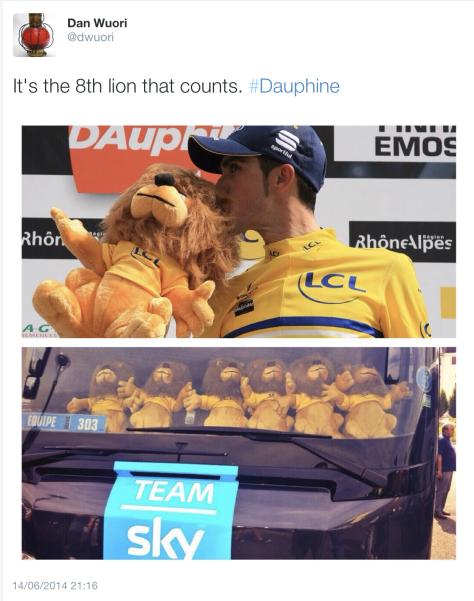 Contador yellow 11