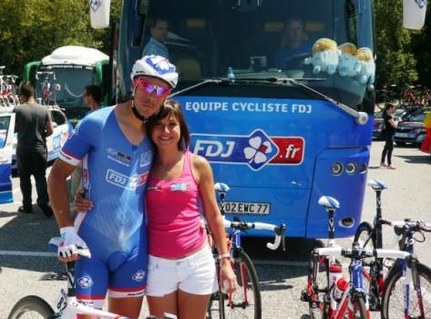 FDJ Sebastien and Sophie Chavanel
