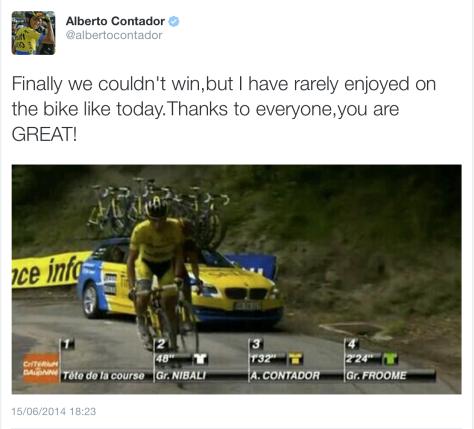 Final Dauphine End Contador 1