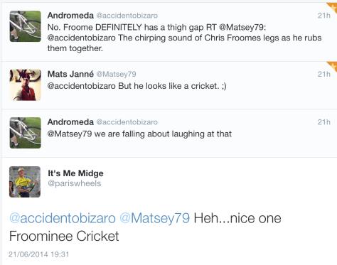 G Froominee Cricket