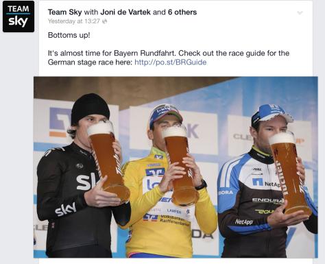 G Sky Bayern Rundfahrt
