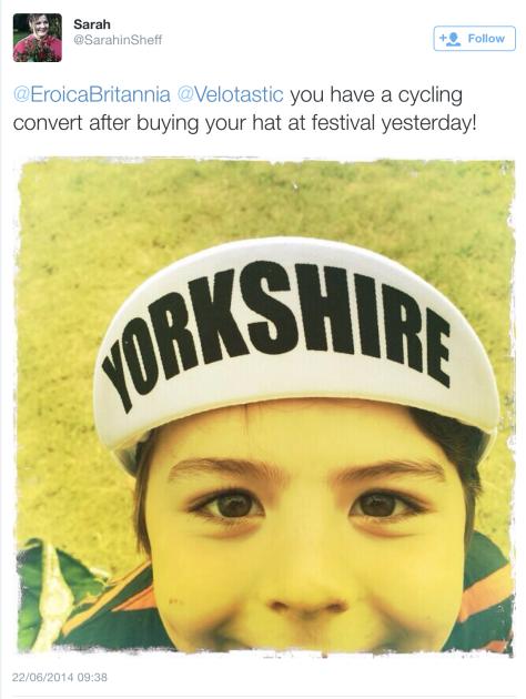 G Yorkshire cap
