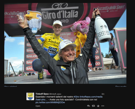 Giro Tinkov champagne 1