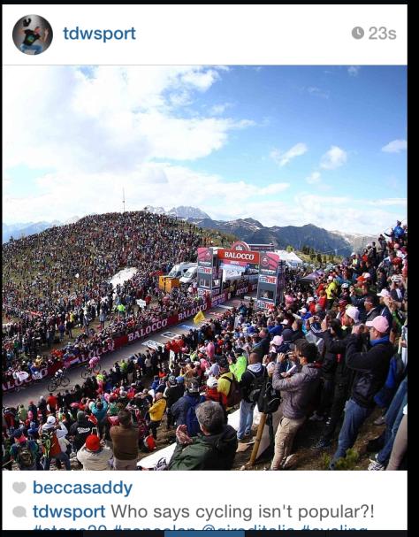 Giro Zoncolan fans 9