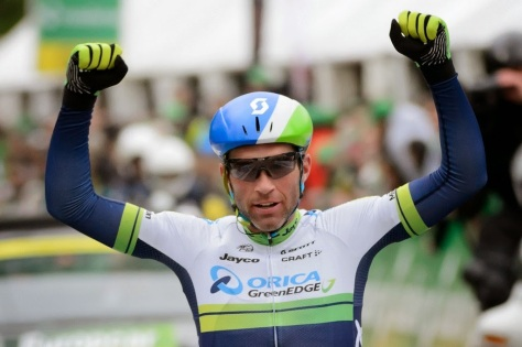 Could Albasini strike lucky on home soil? (image: tour de Romandie)