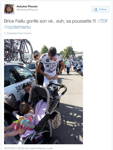 G Brice Feillu baby