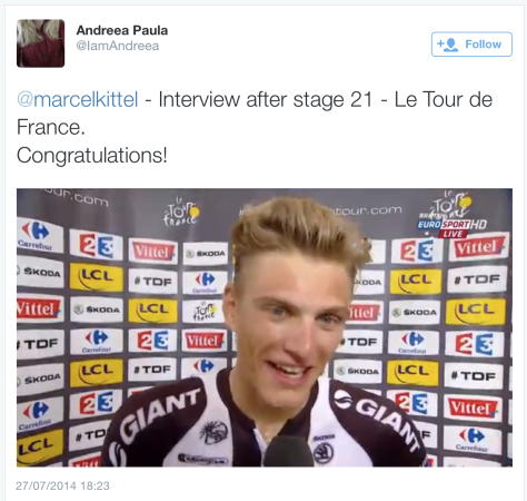 German Kittel celebrate 1a