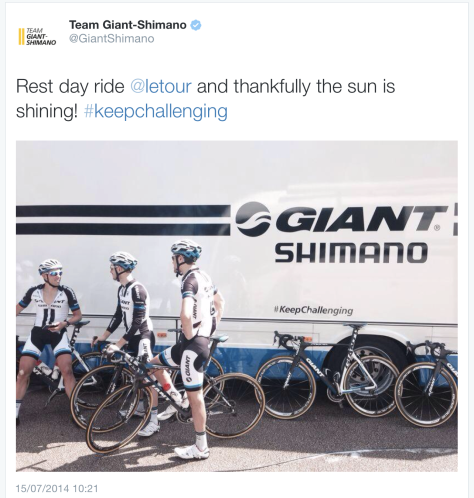 Rest day Giant