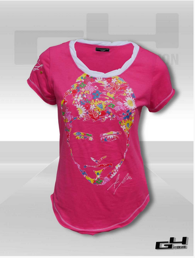 Peter's Flowers teeshirt women's