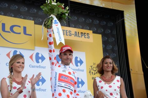Can Rodriguez maintain his grip on the polka dot jersey? (Image: ASO/X Bourgois)