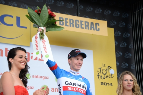 Slagter, who took the day's combativity prize, was instrumental in setting up Navardauskas' win (Image; ASO/X Bourgois)