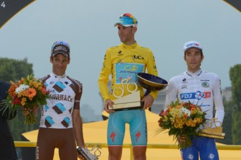 Nibali completes his full set of grand tour wins (Image: ASO/B Bade)