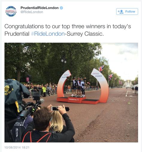 Ride podium 3
