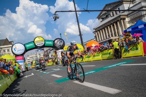 Petr Vakoc takes stage two and the yellow jersey (Image: Szymon Gruchalski)