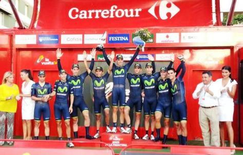 2014 Vuelta a Espana stage 1 winners