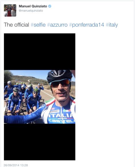 G Quinziato selfie