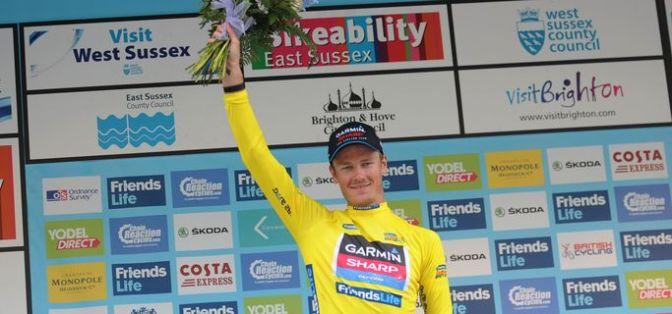 Tour of Britain 2014 stage 7 Dylan van Baarle ToB website
