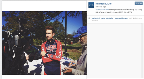 G Taylor Phinney Richmond
