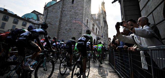 Gara ciclistica 'Il Lombardia' - Partenza
