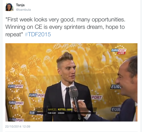 TdF presentation Kittel reaction