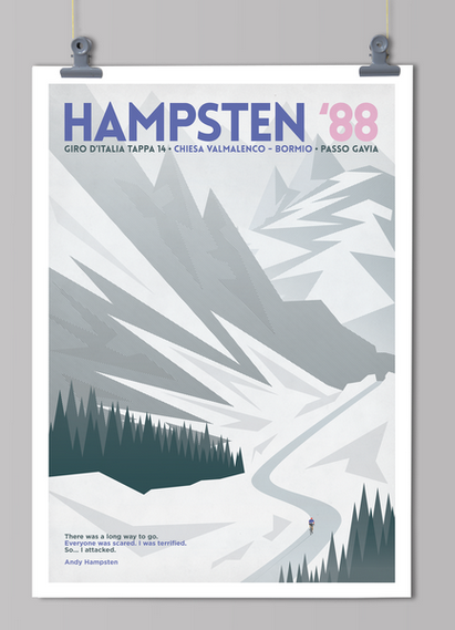 Handmade cyclist Hampsten