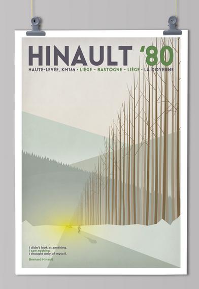 Handmade cyclist Hinault