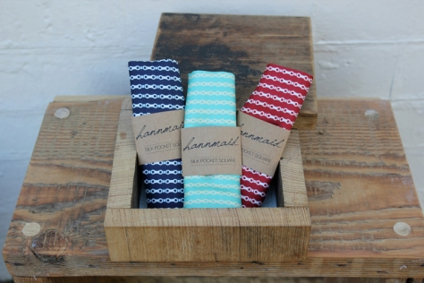 pocket square trio